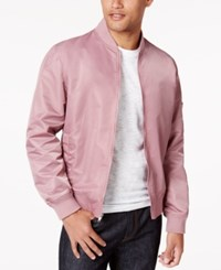 American Rag Men's Nylon Bomber Jacket Only At Macy's Smoked Rose