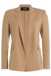 Theory Virgin Wool Blazer Beige