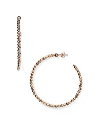 Officina Bernardi Hoop Earrings Rose Gold