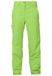 Salomon Response Waterproof Trousers Granny Green