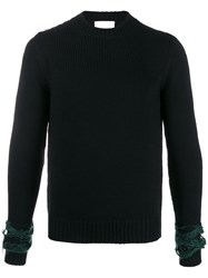 Haikure Knitted Panelled Jumper 60
