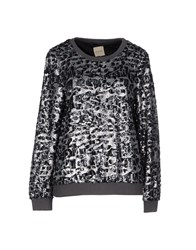 Selected Femme Topwear Sweatshirts Women Steel Grey