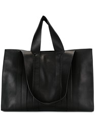Corto Moltedo Large 'Costanza Beach Club' Tote Black