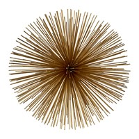 Pols Potten Prickle Decorative Ornament Brass Gold