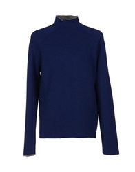 Emporio Armani Turtlenecks Blue