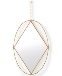 Home Design Studio Oval Pendant Mirror Only At Macy's