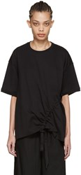 Marques Almeida Black Side Cord T Shirt