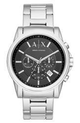 Armani Exchange Men's Ax Chronograph Bracelet Watch Gift Set 44Mm