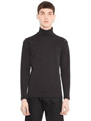 Christopher Kane 3D Snake Effect Turtleneck T Shirt
