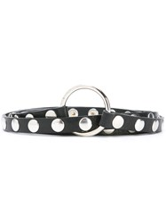 Mcq By Alexander Mcqueen Studded Multi Wrap Belt Black