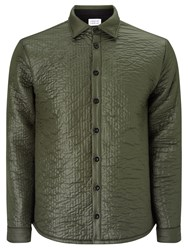 Libertine Libertine Bravo Quilted Jacket Green Grey Melange
