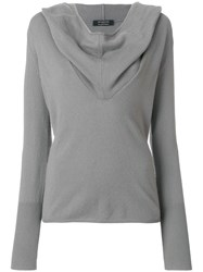 Unconditional Ghost Hoodie Grey