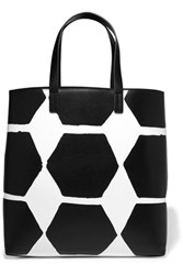 Mcq By Alexander Mcqueen Printed Leather Tote Black