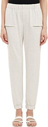 Sea French Terry Jogger Pants White