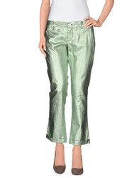 Jacob Cohen Jacob Coh N Trousers 3 4 Length Trousers Women Light Green