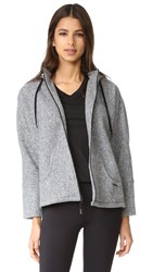 Koral First Light Descender Hoodie Heather Grey