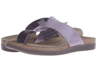 Rockport Total Motion Romilly Curvy Thong Sparrow Smooth Silver Pearl Women's Sandals Brown