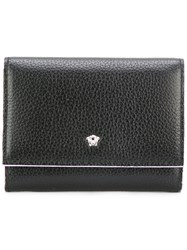 Versace Mini Medusa Wallet Black
