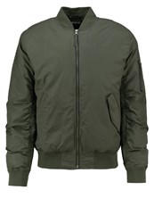 Edwin Bomber Jacket Uniform Green Oliv