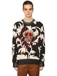 Vivienne Westwood Printed And Embroidered Cotton Sweatshirt