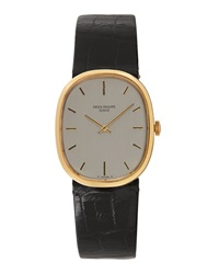 Goodman's Vintage Watches Patek Philippe 18K Yellow Gold Ellipse Watch C. 1970S
