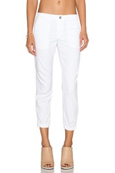 Sanctuary Peace Trooper Pant White