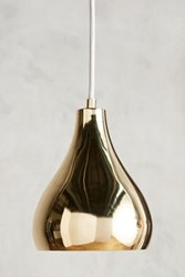Anthropologie Alchemist Pendant Brass
