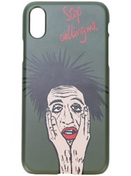 Haculla Stop Calling Me Iphone 7 8 Case Green