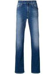7 For All Mankind Classic Slim Fit Jeans Blue