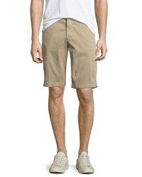 Ag Adriano Goldschmied Griffin Trouser Shorts Taupe