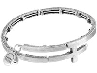 Alex And Ani Cross Metal Wrap Rafaelian Silver Bracelet