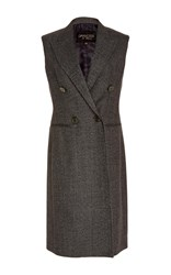 Giambattista Valli Double Breasted Vest Grey