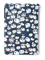 Lanvin 'Alber Elbaz' Faces Tablet Case Blue