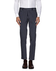 Brian Dales Trousers Casual Trousers Men Dark Blue