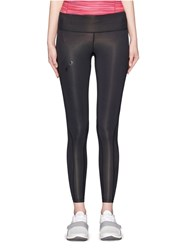 2Xu 'Mid Rise Compression' Performance Tights Black