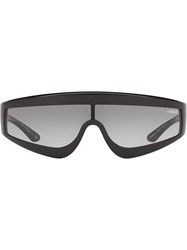 Vogue Eyewear Zoom In Visor Sunglasses Black