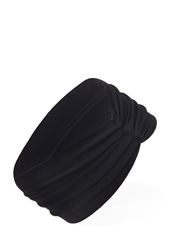 Forever 21 Knotted Heathered Headwrap Black
