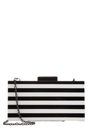 Buffalo Clutch Black White