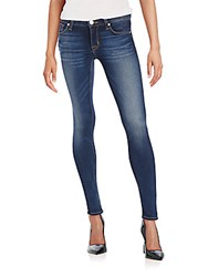 Hudson Super Skinny Jeans Blue Gold
