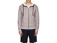 Orlebar Brown Carter Cotton Terry Hoodie Red