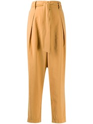 Forte Forte Belted Wide Leg Trousers 60