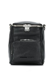 Mcq By Alexander Mcqueen Loveless Mini Convertible Backpack Black