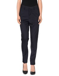 The Editor Trousers Casual Trousers Women Dark Blue