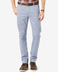 Dockers Men's Alpha Slim Fit Khaki Pants Ventana Blue