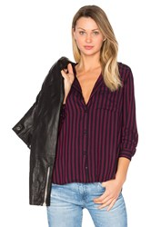 Rails Aly Button Up Purple