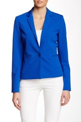 Dex Notch Collar Blazer Blue