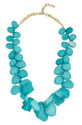 Baublebar Women's 'Seaglass' Bib Necklace Teal