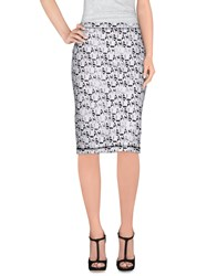 This Is Lily Skirts Knee Length Skirts Women White