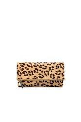 Clare V. Foldover Clutch Brown