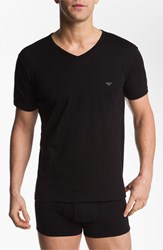 Men's Emporio Armani V Neck T Shirt 3 Pack